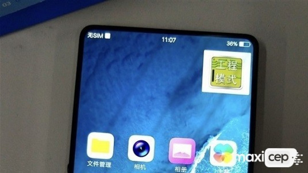 Neredeyse Tamamen Çerçevesiz Ekrana Sahip Olan Yeni Vivo Telefonu Tekrar Göründü