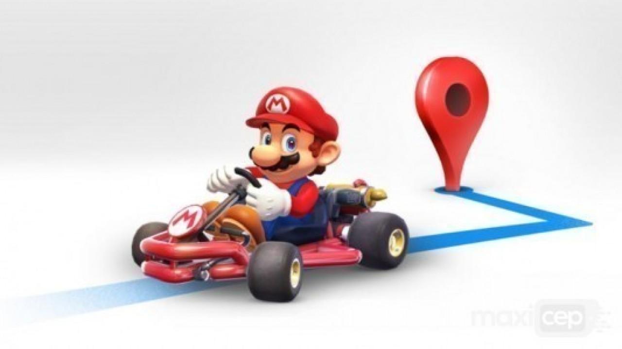 Mario şimdi ise karşımıza Google Haritalar'da çıkacak