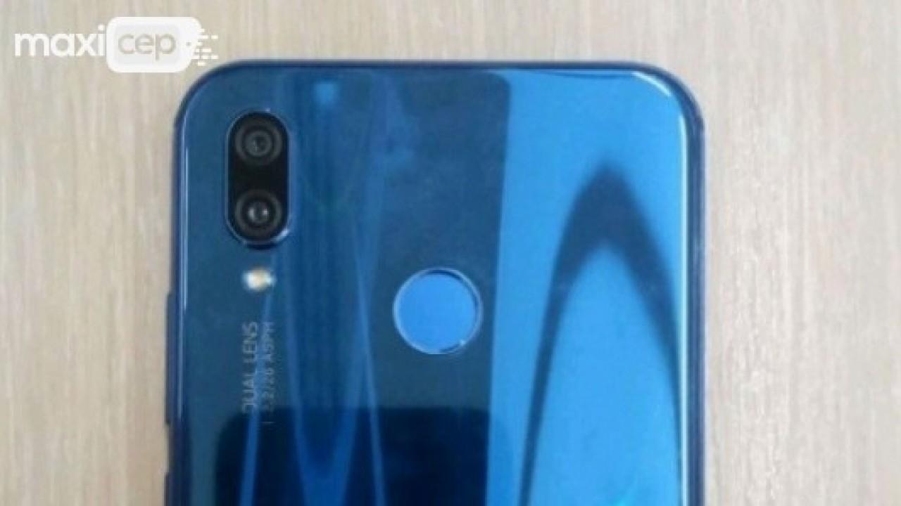 Mavi Renkli Huawei P20 Lite'ın Yeni Görüntüsü Ortaya Çıktı