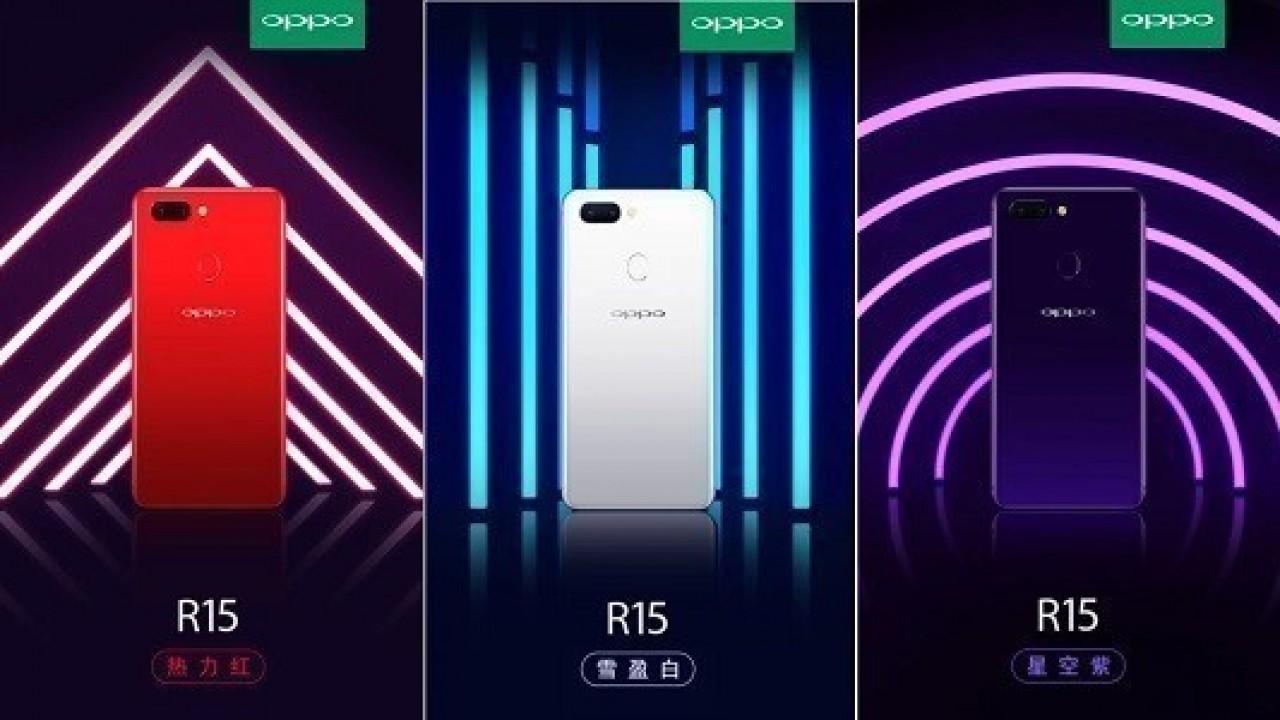 Oppo R15 6 GB RAM ve 128 GB Depolama Alanıyla Birlikte Geliyor