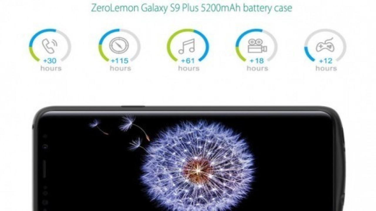 Galaxy S9 bataryasını, bu kılıfla iki katına çıkartın