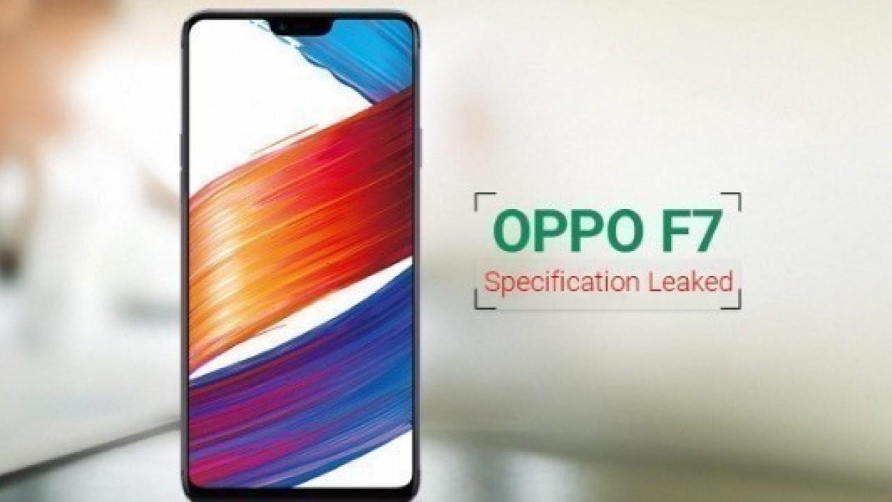 Oppo F7 Özellikleri Sızdırıldı