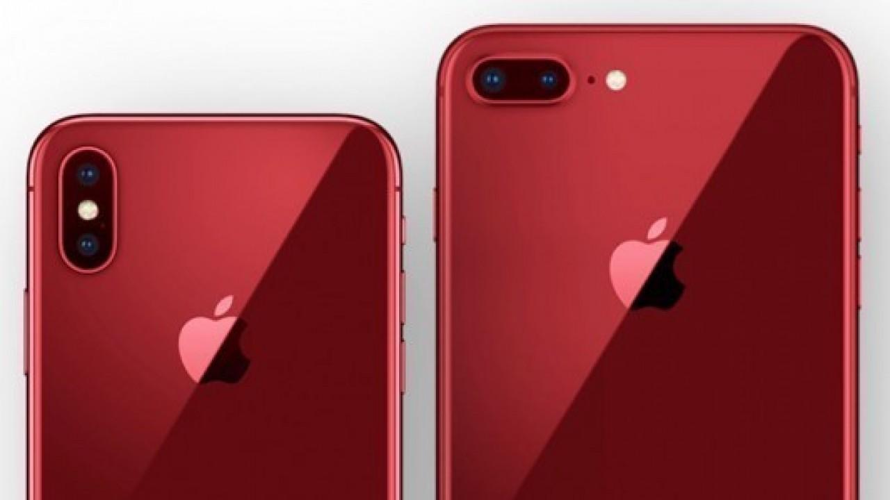 Son nesil iPhone'larda kırmızı renk seçeneğine kavuşacak