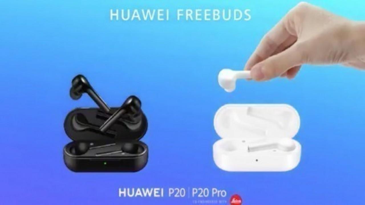 Merakla beklenen Huawei FreeBuds kablosuz kulaklığı tanıtıldı