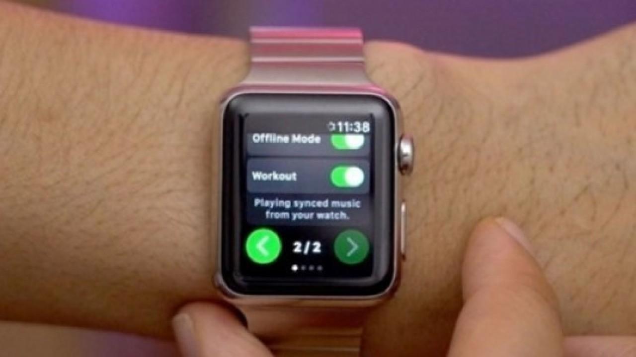 Spotify Apple Watch için resmi uygulamasını yayınlıyor
