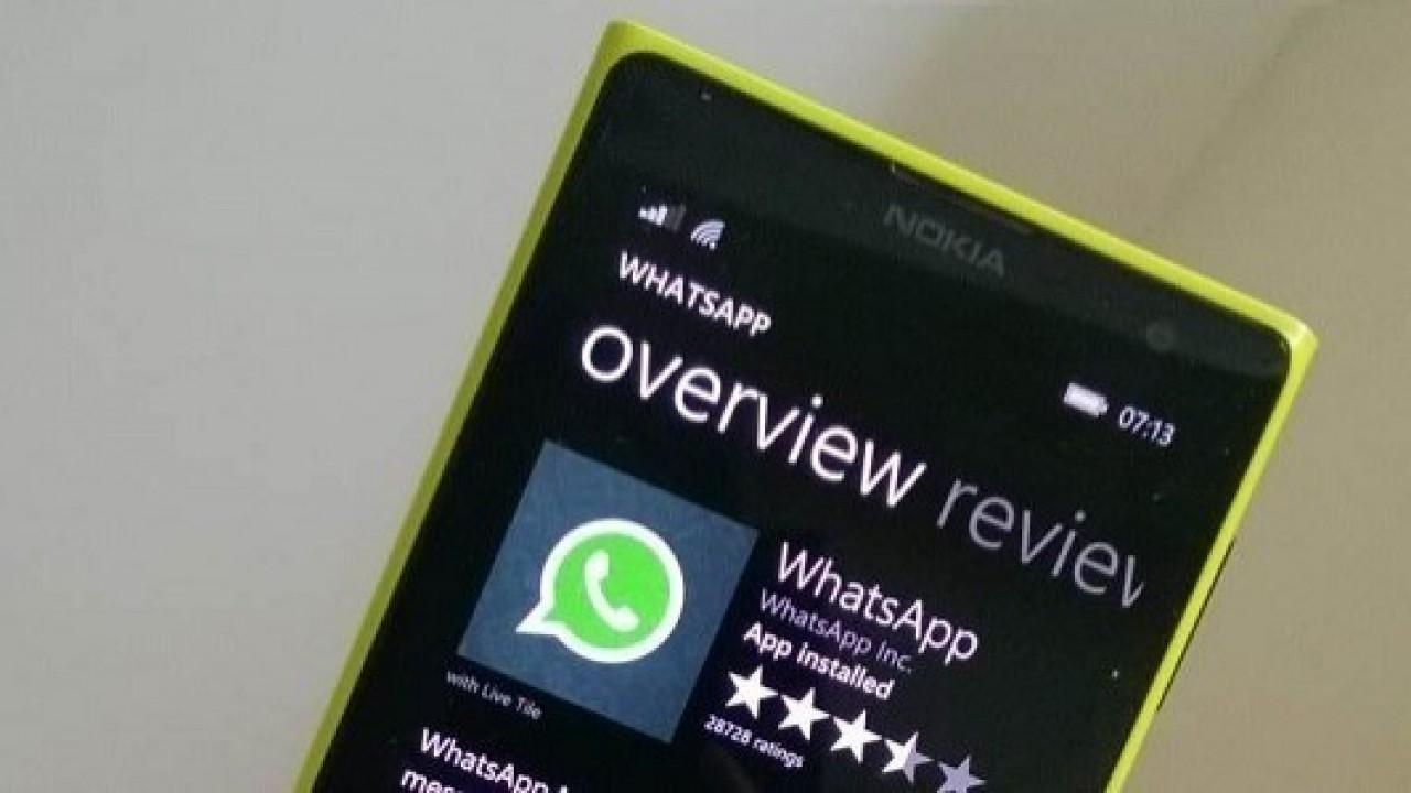 Windows Phone İçin Whatsapp Beta Yeni Özelliklerle Güncellendi