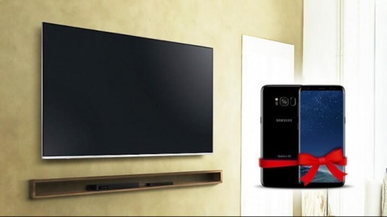 n11.com'dan Samsung televizyon alana Galaxy S8 hediye