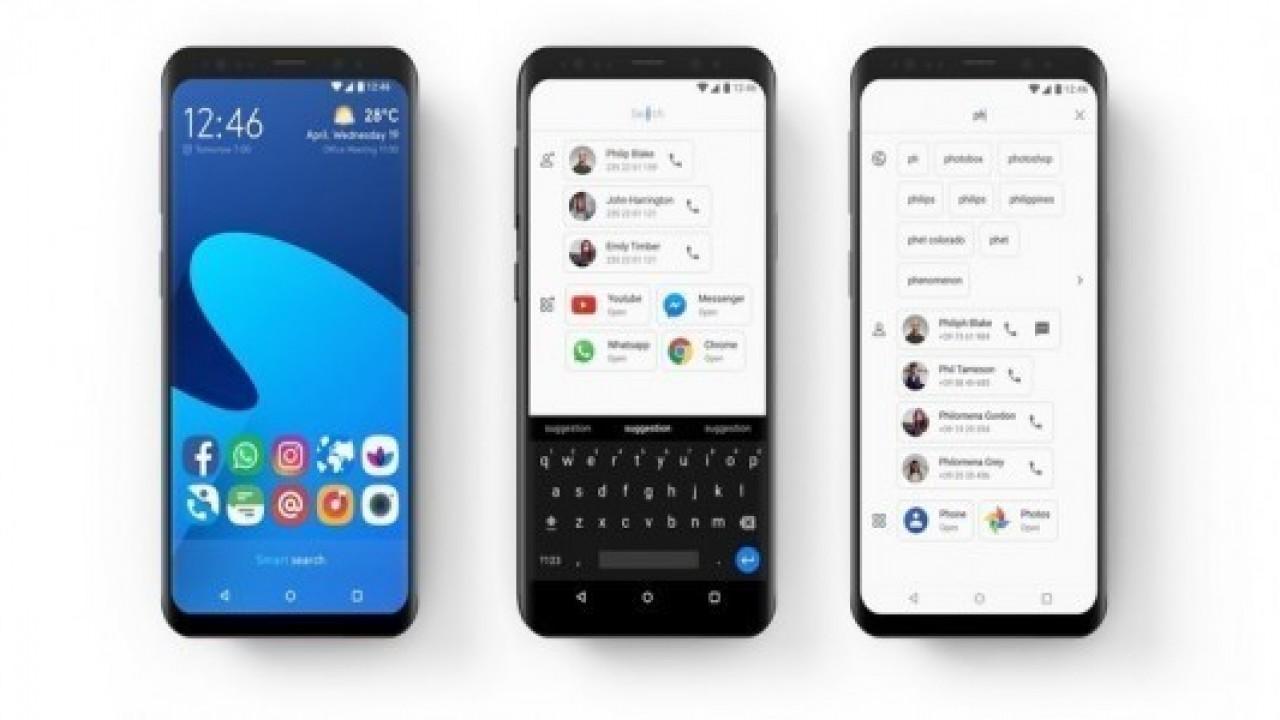 Smart Launcher 5, Android için Play Store'da indirilebilir