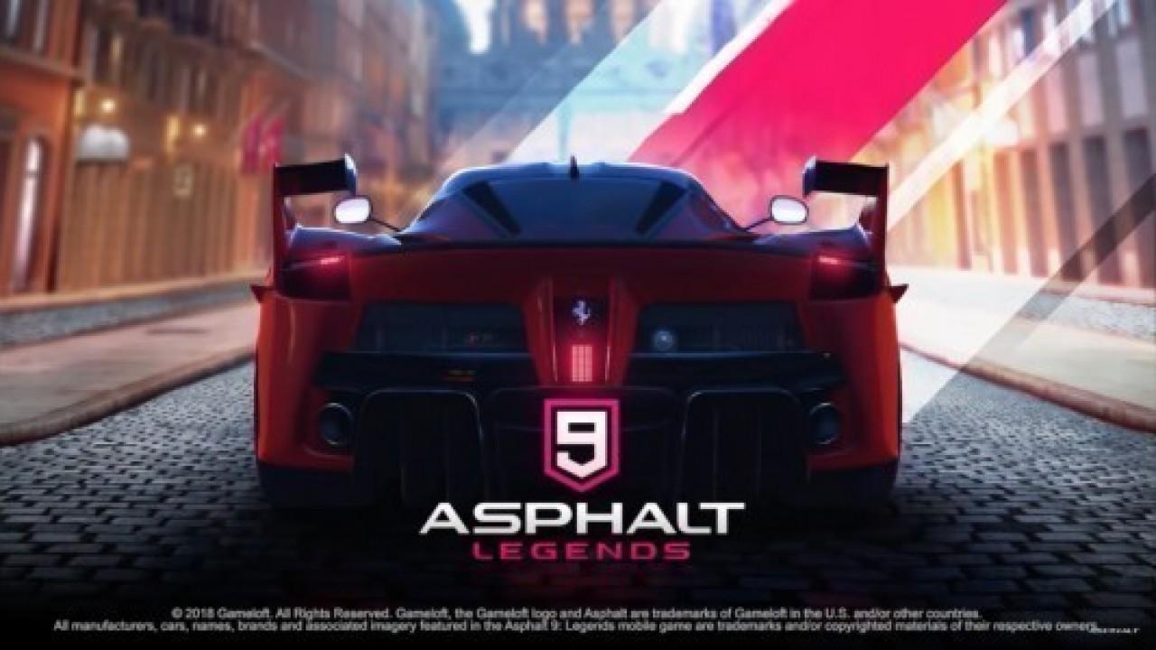 Asphalt 9: Legends, iOS'lu telefonlar için yayınlandı