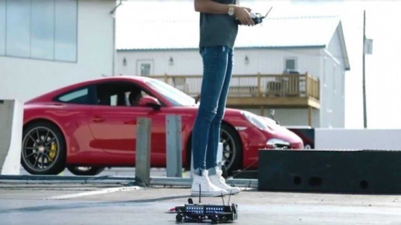 Porsche şimdilerde ise drone üretimine gözü dikti