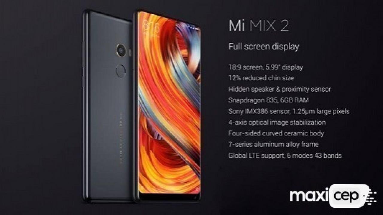 Xiaomi Mi Mix 2 İçin Android 8.0 Oreo Güncellemesi Yayınlandı