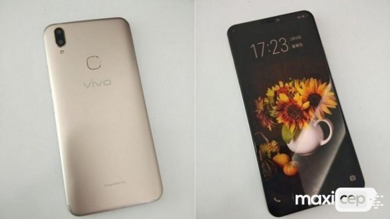 iPhone X Benzeri Vivo V9 Modeli Çalışır Halde Görüntülendi