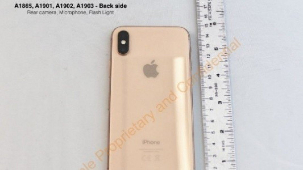 Gold Renkli Apple iPhone X, FCC Sertifikası Aldı