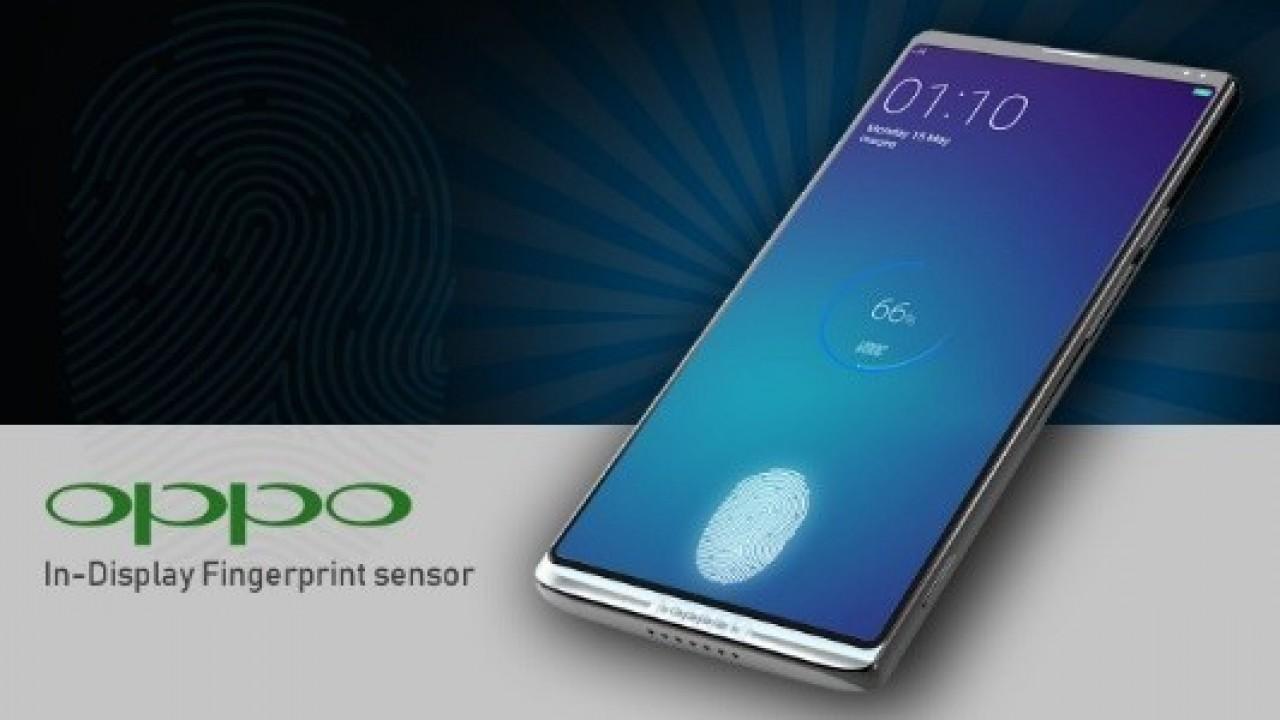 Oppo, Ekran içi Parmak İzi Tarayıcı Patenti Aldı