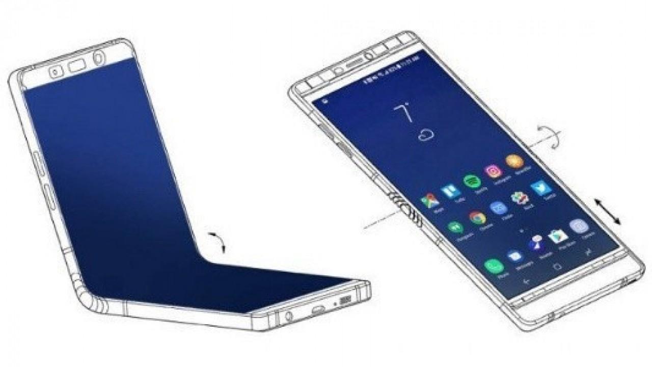 Katlanabilir Galaxy X, Büyük Ekranlı Galaxy Note8'e Benzeyecek