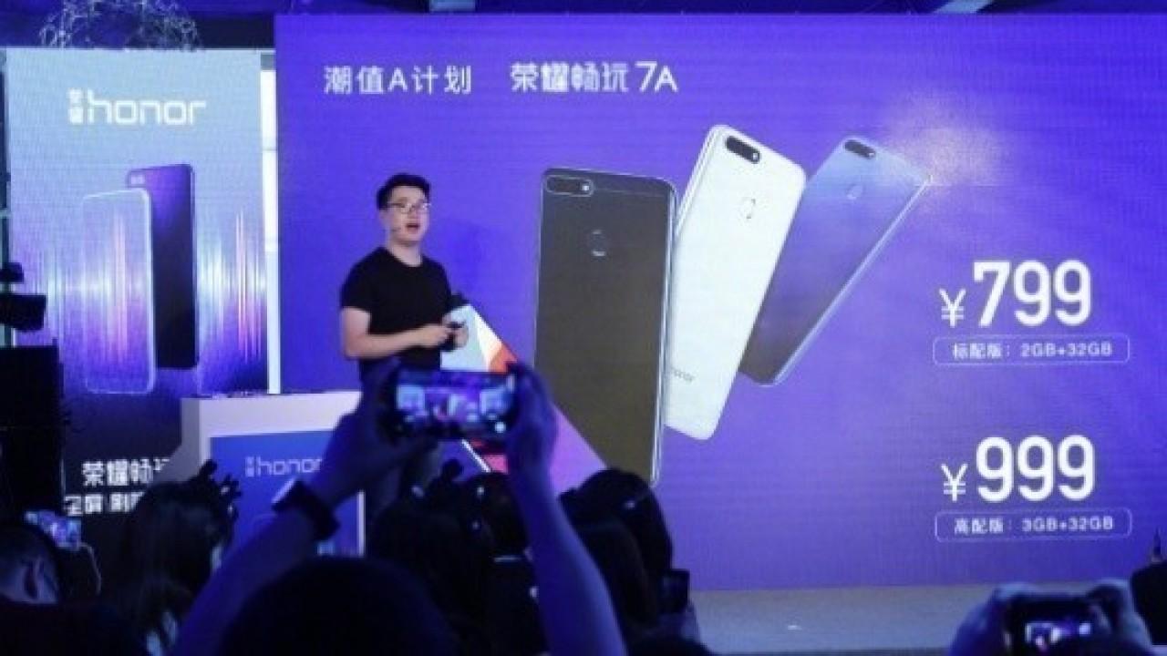 Huawei Honor 7A Duyurusu Yapıldı
