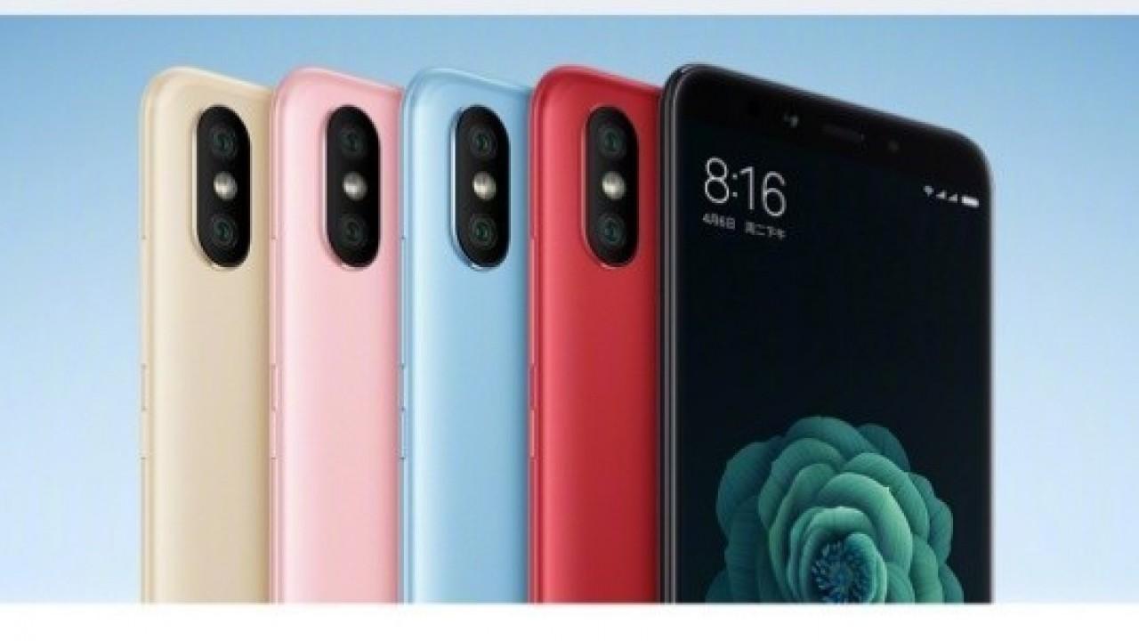 Xiaomi Mi 6x Resmi Olarak Duyuruldu