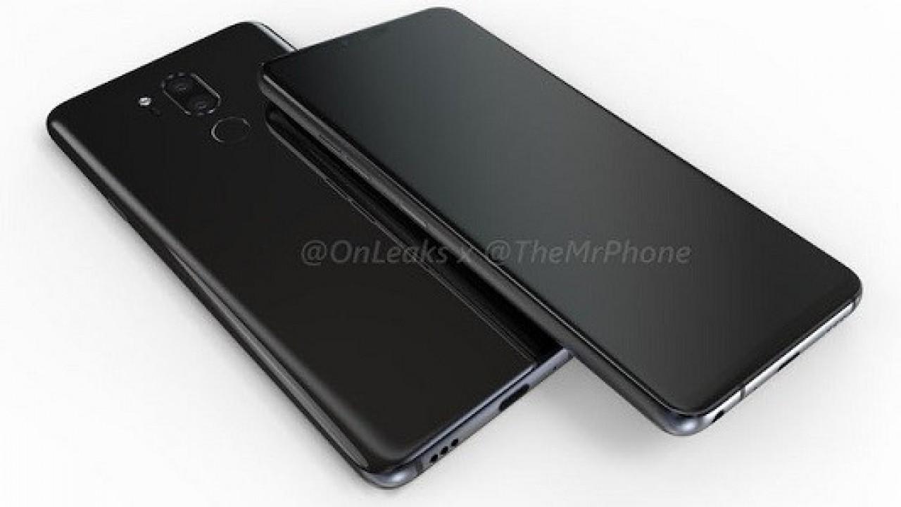 LG G7 Çentikli ve Çerçevesiz Ekran Paneliyle Birlikte Geliyor