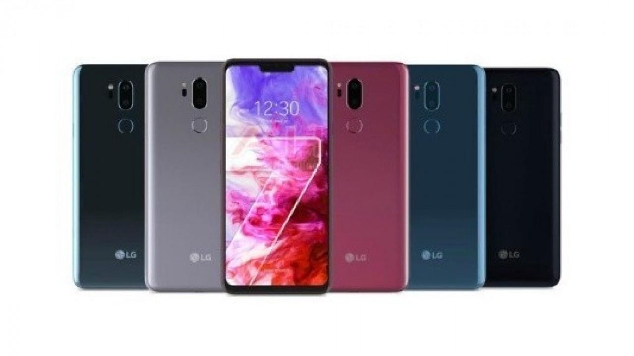 Karşınızda LG G7 ThinQ'nun İlk Resmi Görseli
