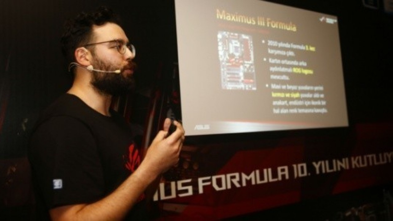 Asus, Maximus Formula Anakarların Onuncu Yılını İstanbul'da Kutladı