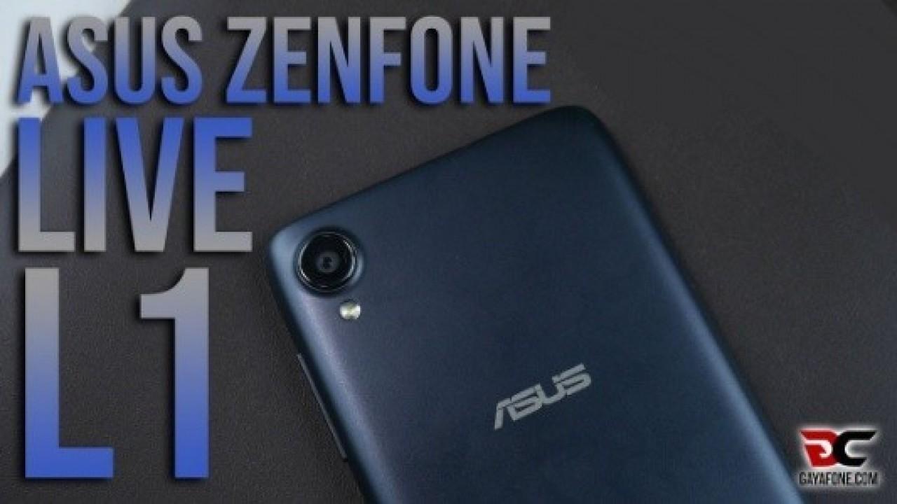 Asus Zenfone Live L1 Android Go Akıllı Telefon Duyuruldu