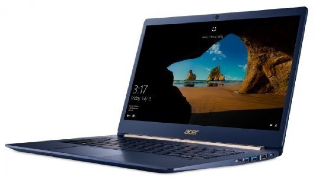 Acer Swift 5 Türkiye'de Satışa Sunuldu