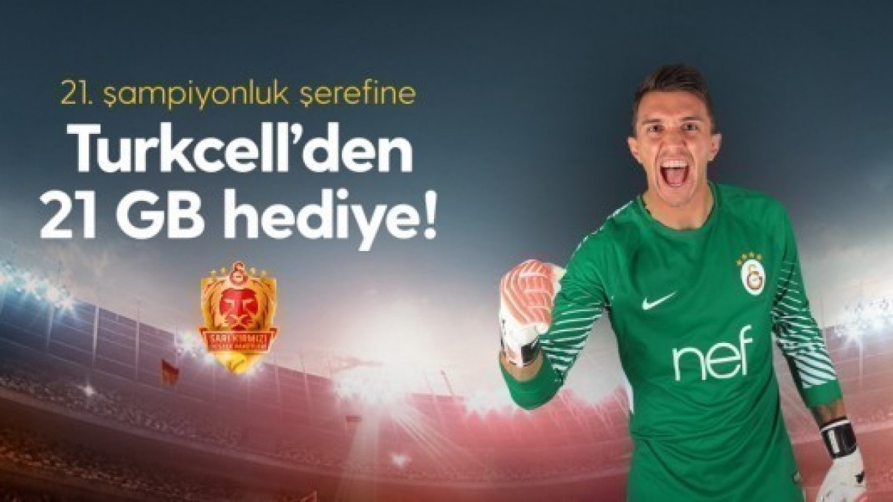 Turkcell, Galatasaray taraftarına bedava internet dağıttı