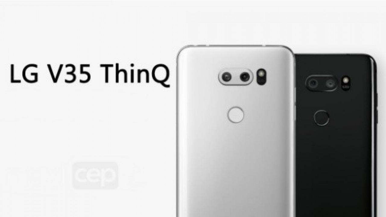 LG V35 ThinQ'nun İlk Gerçek Görüntüsü Değişmeyen Tasarımı Gösteriyor