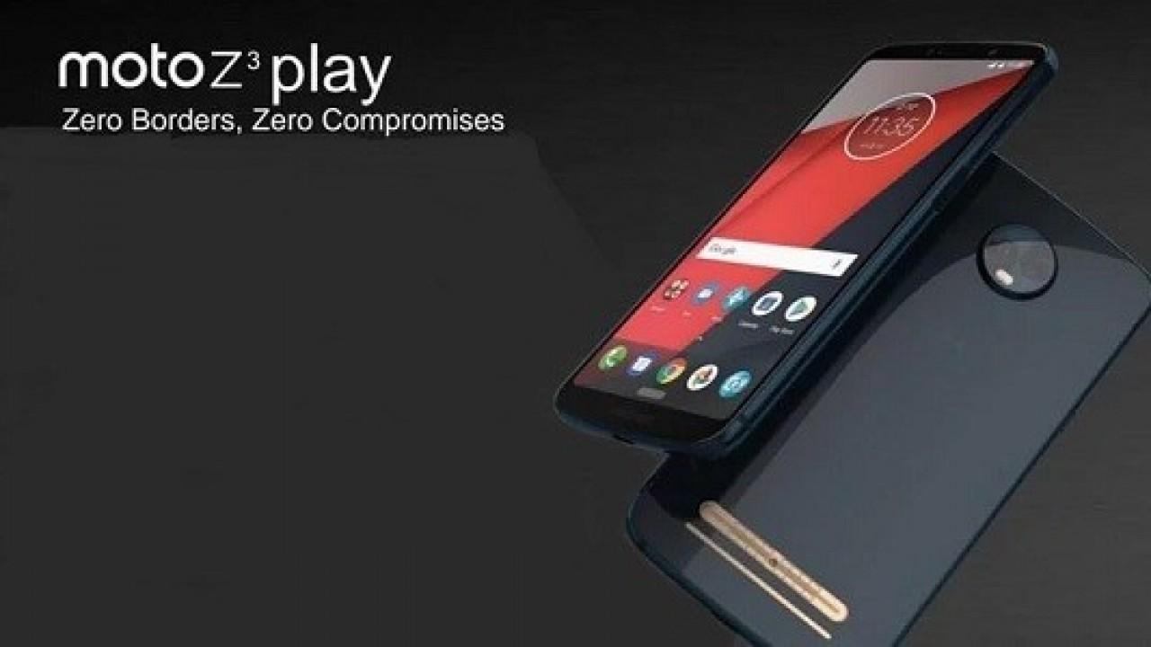 Moto Z3 Play 18:9 Ekranıyla Çalışır Halde Görüntülendi