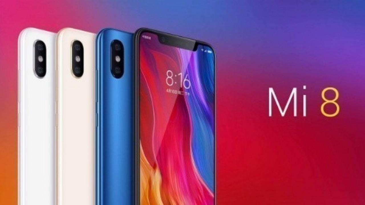 Xiaomi Mi 8 Tüm Detaylarıyla Resmi Olarak Duyuruldu