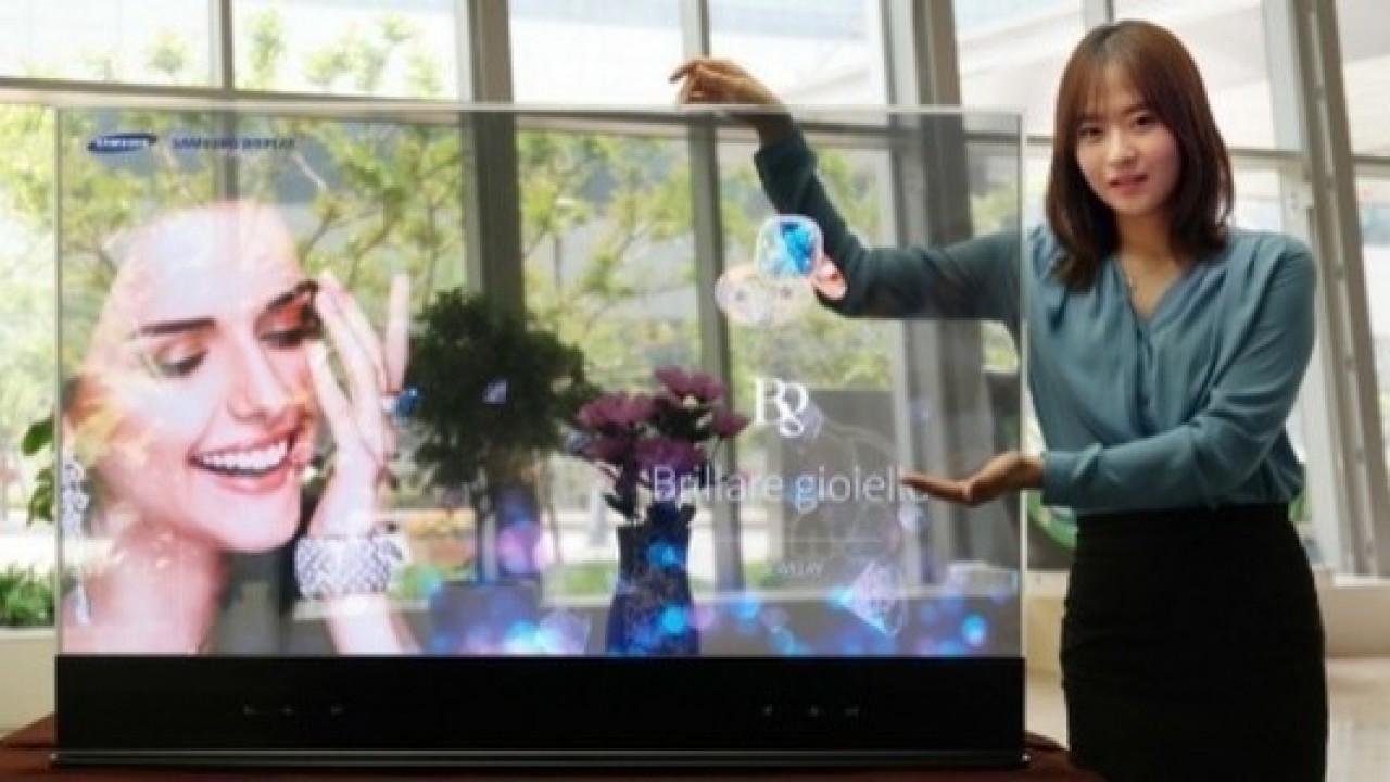 Samsung, Katlanabilir Telefon ve Transparan Ekran Patenti Aldı