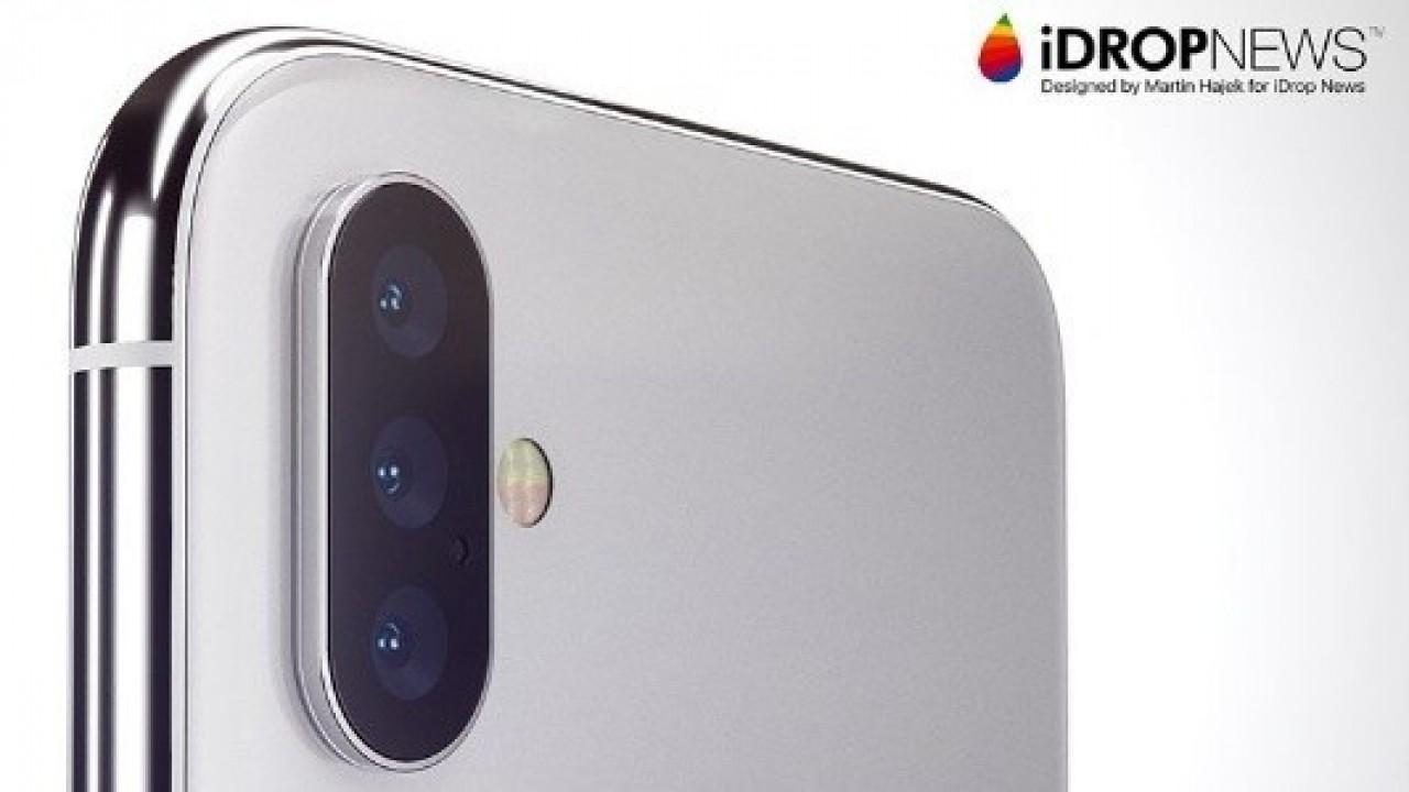 Üç Lensli Arka Kameraya Sahip Apple iPhone 2019'da Piyasaya Sunulacak