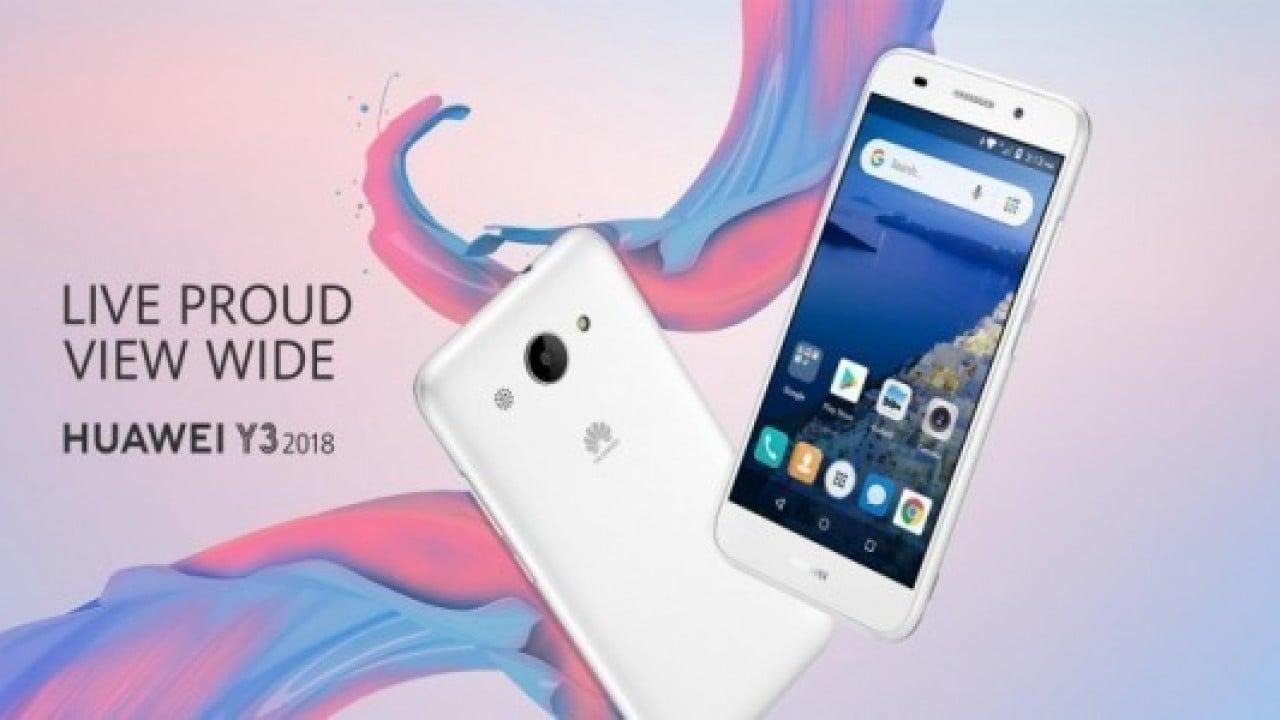 Huawei Y3 (2018) resmi olarak tanıtıldı