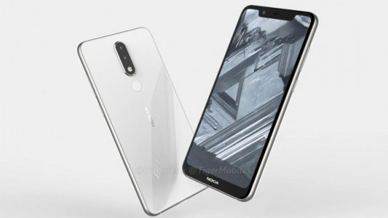 Nokia 5.1 Plus, render görüntüleri ve teknik özellikleri sızdırıldı