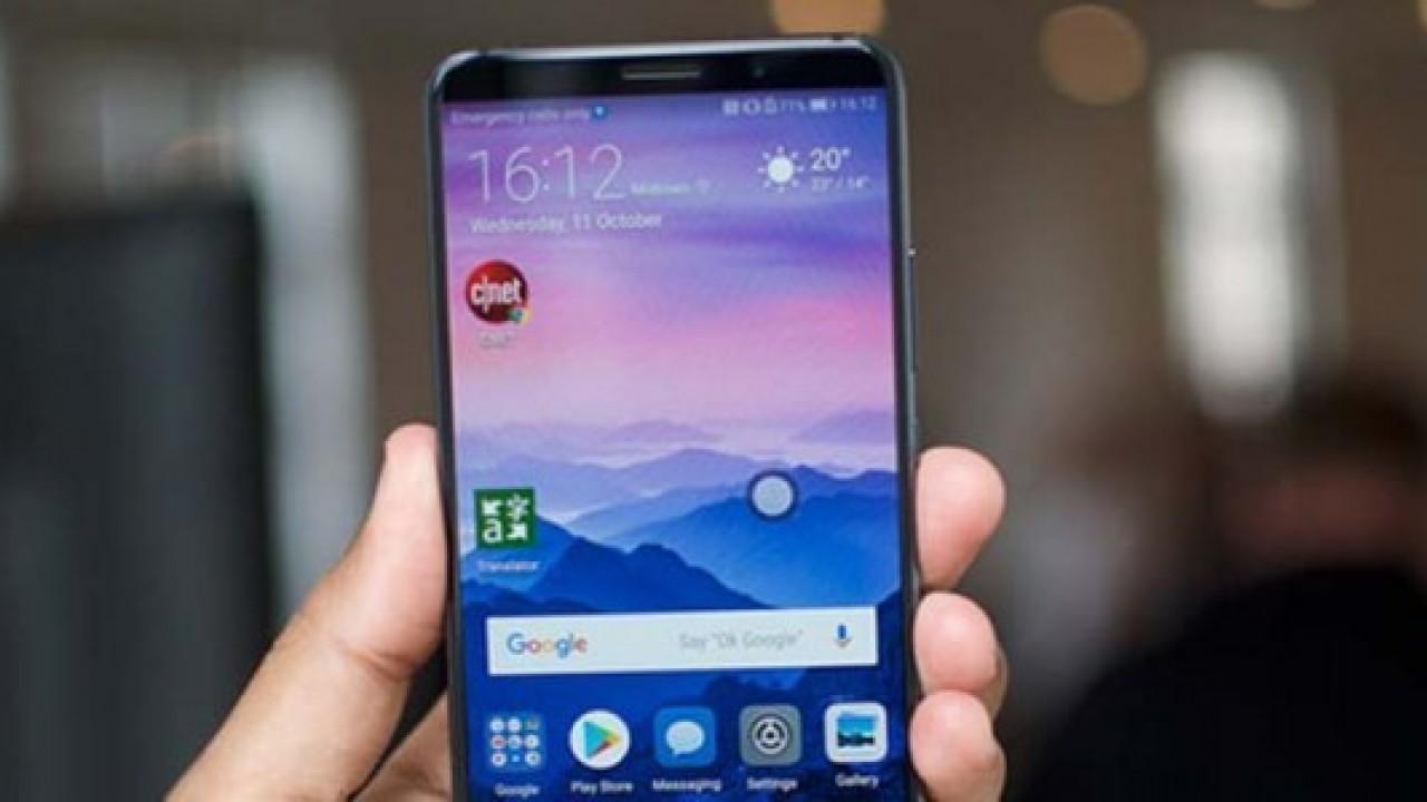 Huawei Mate 20 Pro dev bir ekranla gelebilir