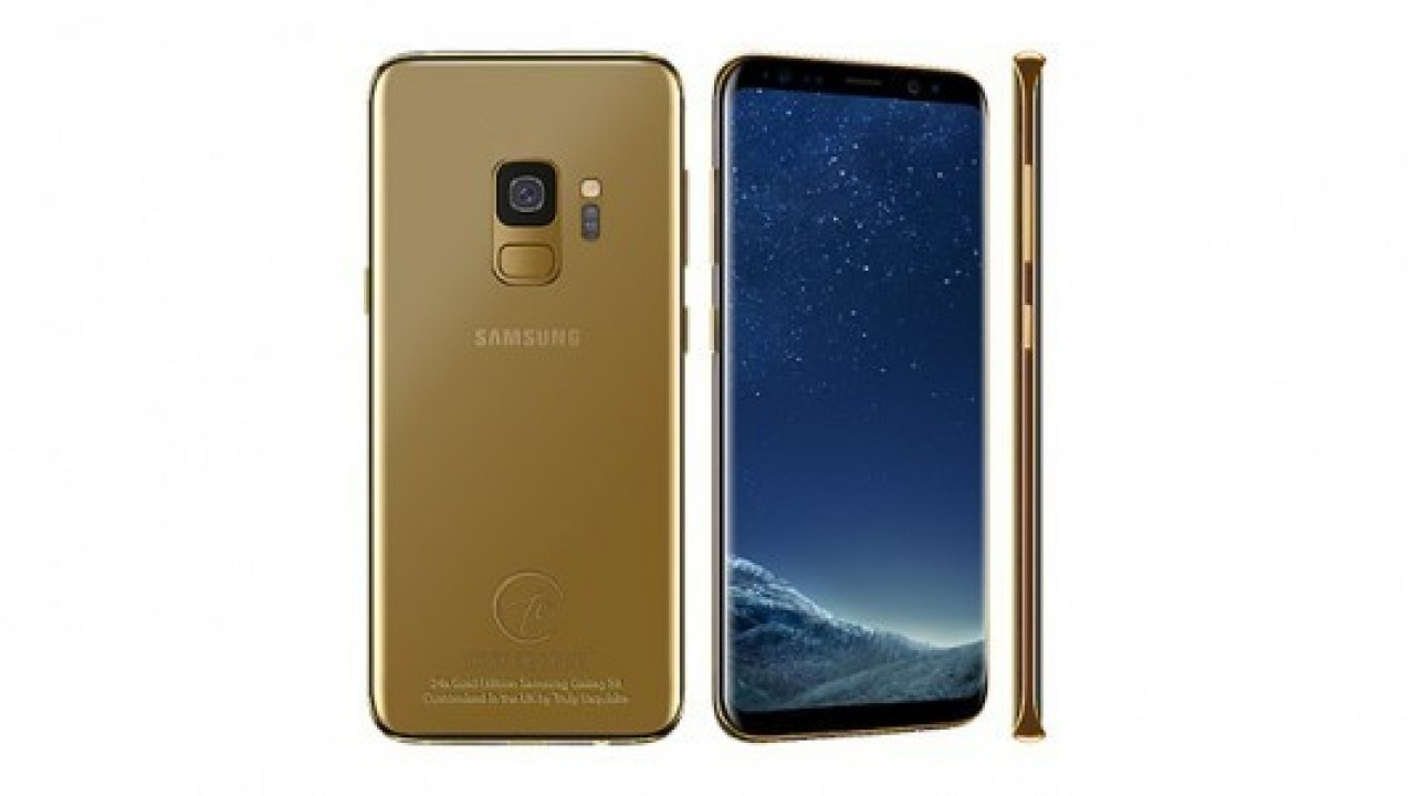 24 ayar altın içeren Galaxy S9 serisi satışa çıktı
