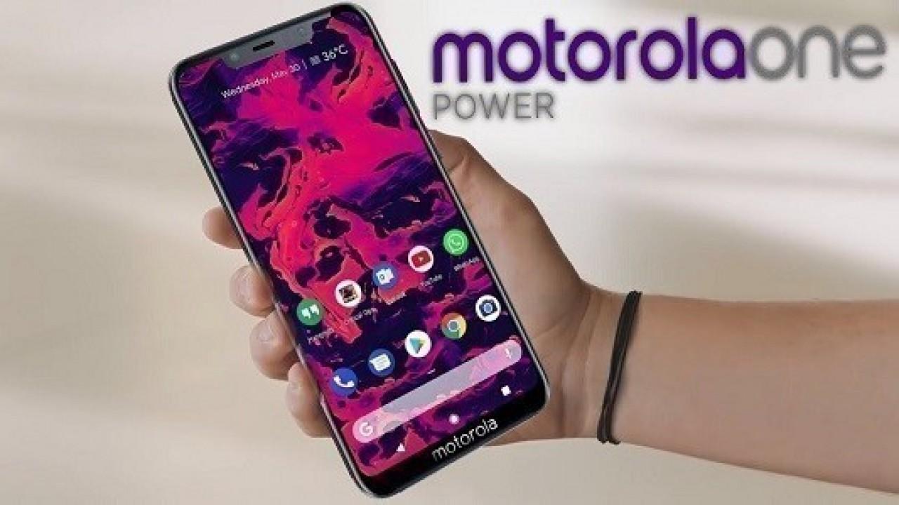 Motorola One Power Canlı Şekilde Görüntülendi