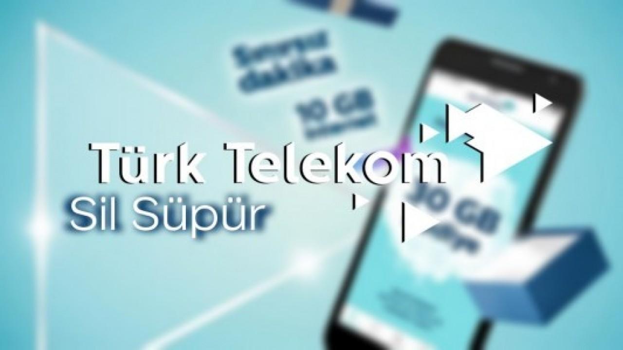Türk Telekom Sil Süpür kampanyası ile onlarca hediye sizi bekliyor