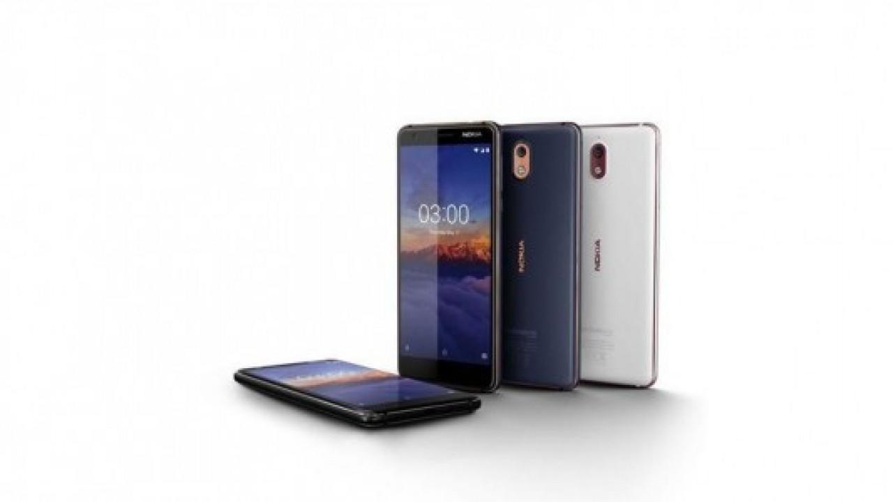 Nokia 3.1 satışları önümüzdeki hafta başlıyor