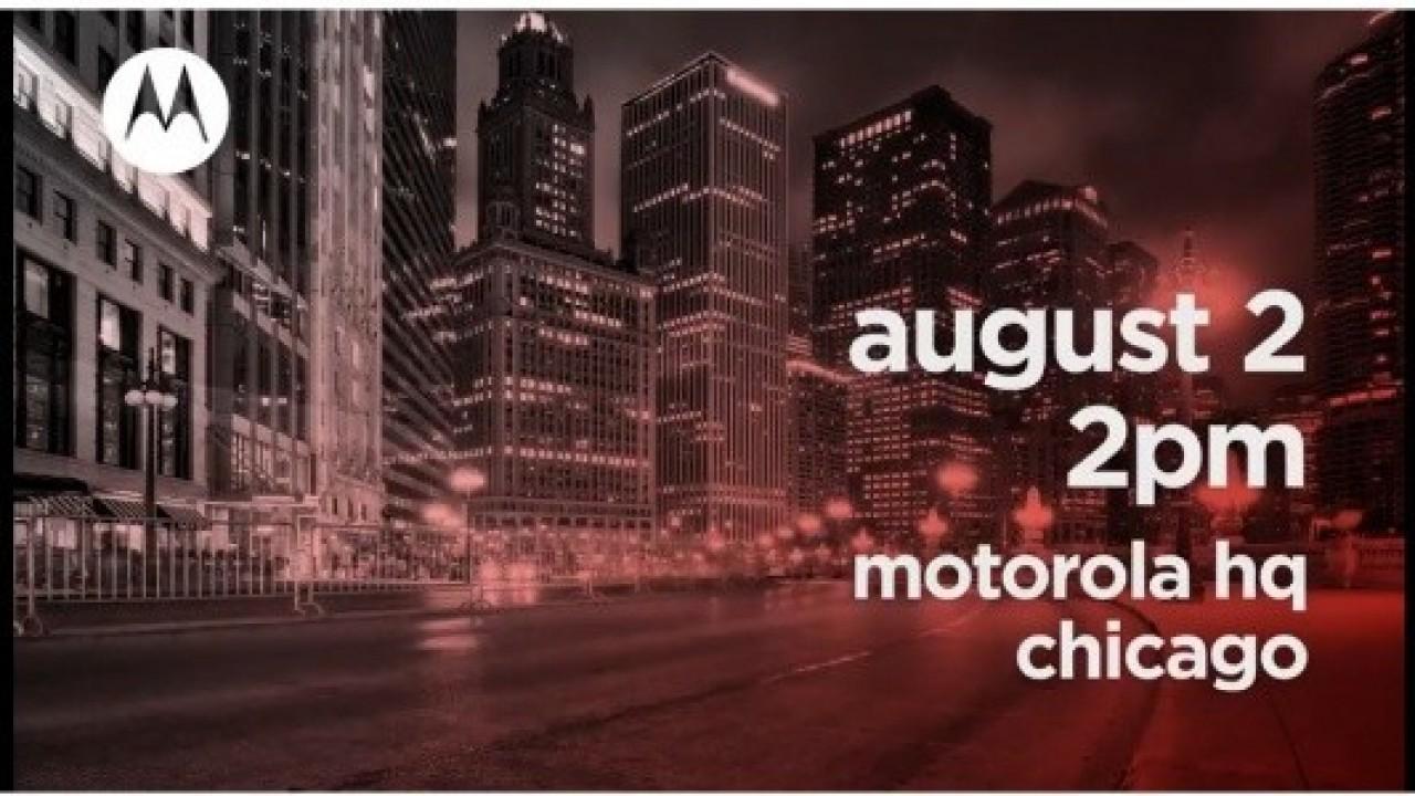 Motorola, 2 Ağustosta Büyük Bir Duyuru Yapmaya Hazırlanıyor