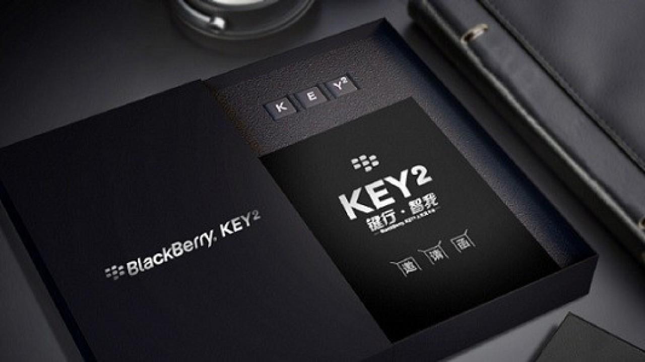 Blackberry KEY2 8 Haziran'da Çin'de Tanıtılacak