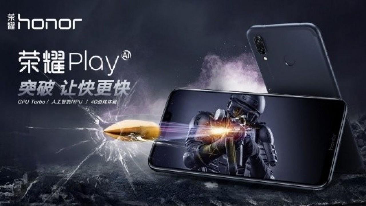 Honor Play, 6.3 inç Full HD+ Ekrana ile Duyuruldu