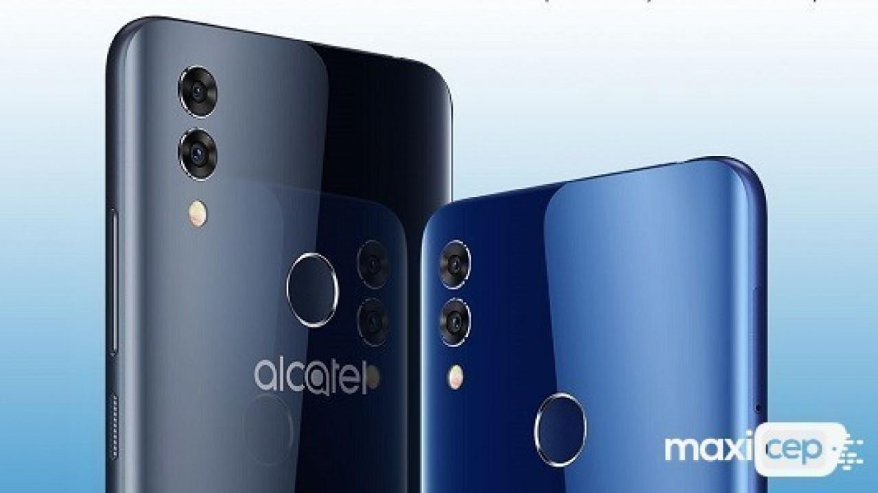Alcatel 5V Çentikli Ekranıyla Tanıtıldı