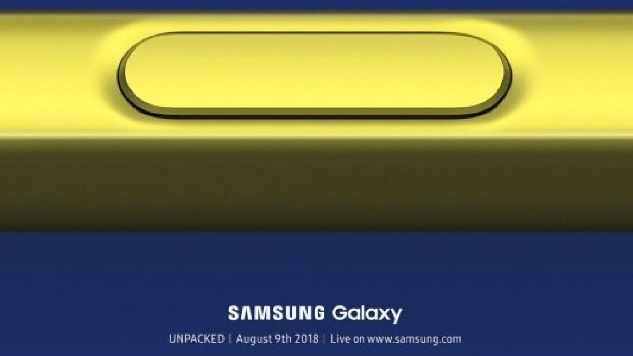 Samsung Galaxy Note9 S Pen ile Müzik Çalar Kontrol Edilecek