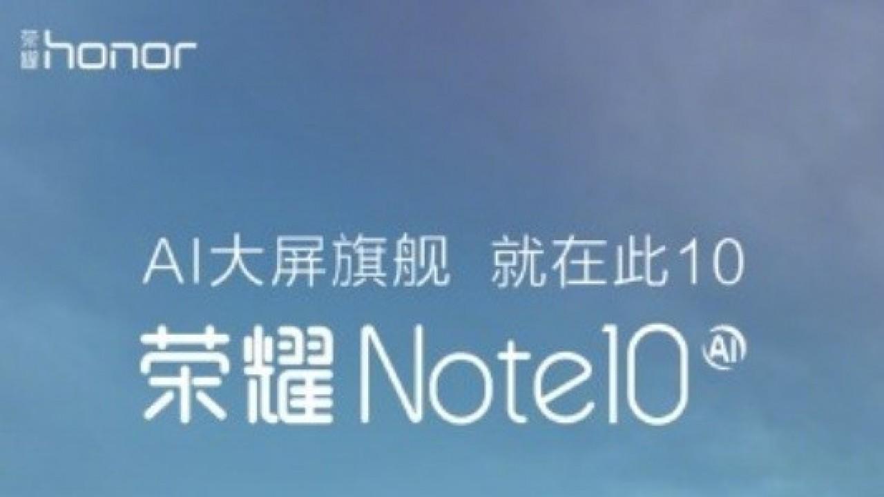 Honor Note 10 Tanıtım Tarihi Açıklandı