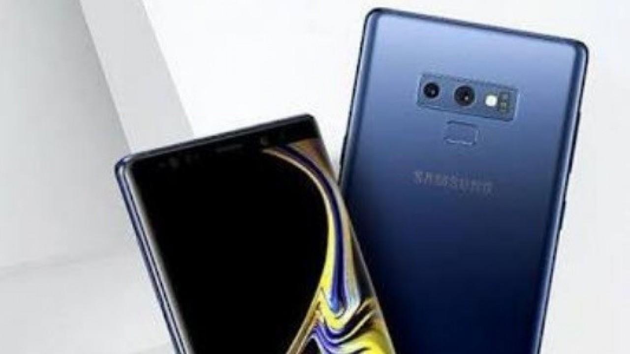 Samsung Galaxy Note9'un Çalışırken Yeni Görüntüleri Ortaya Çıktı