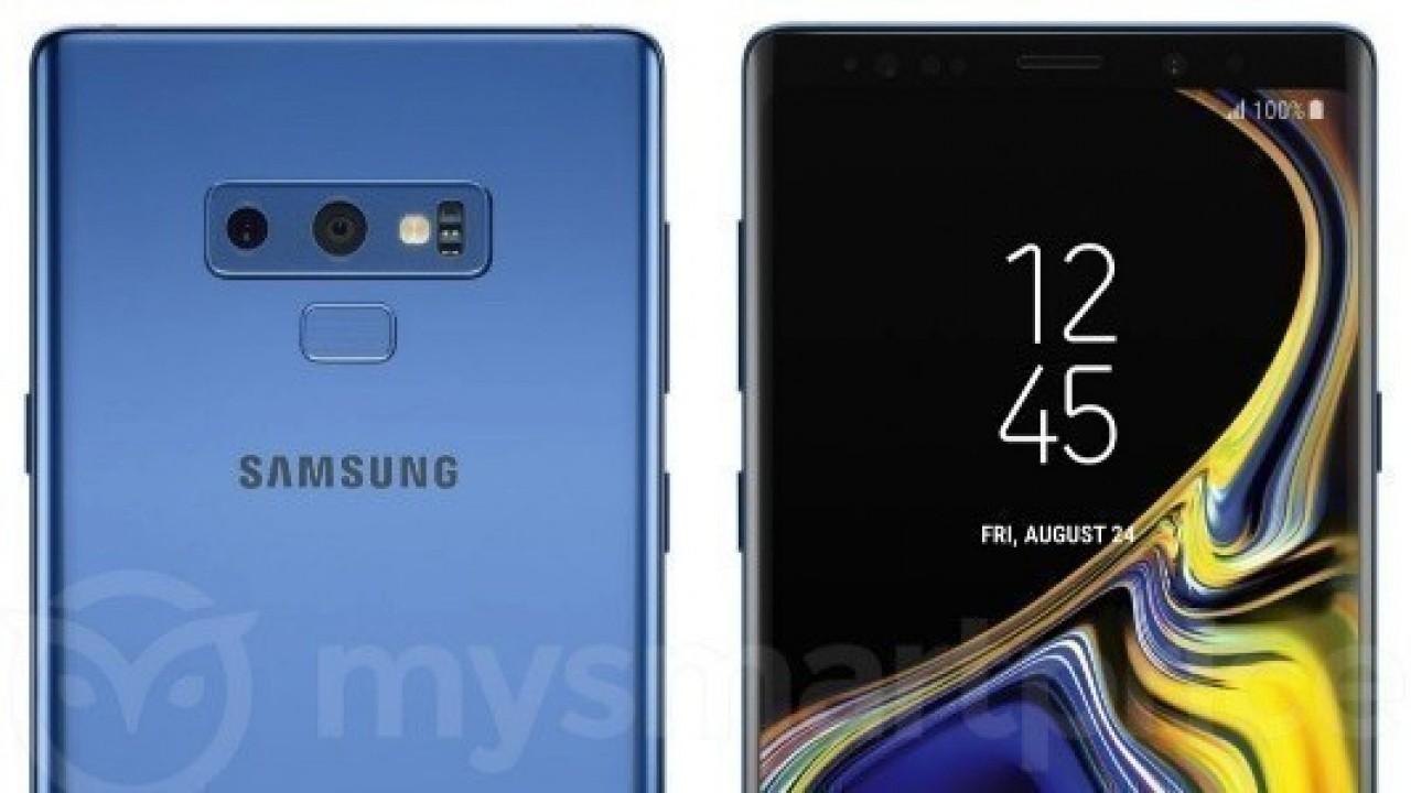 Galaxy Note 9, Mercan Mavisi Rengi ve Perakende Kutusu ile İnternete Sızdırıldı