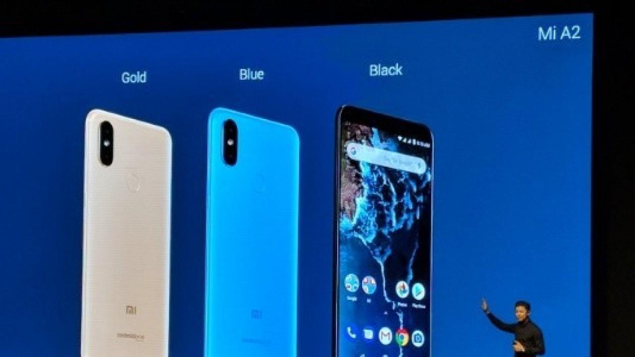 Xiaomi Mi A2 Android One, 5.99 inç Ekran, Snapdragon 660, 6GB RAM, 12MP + 20MP Kamera ile Duyuruldu