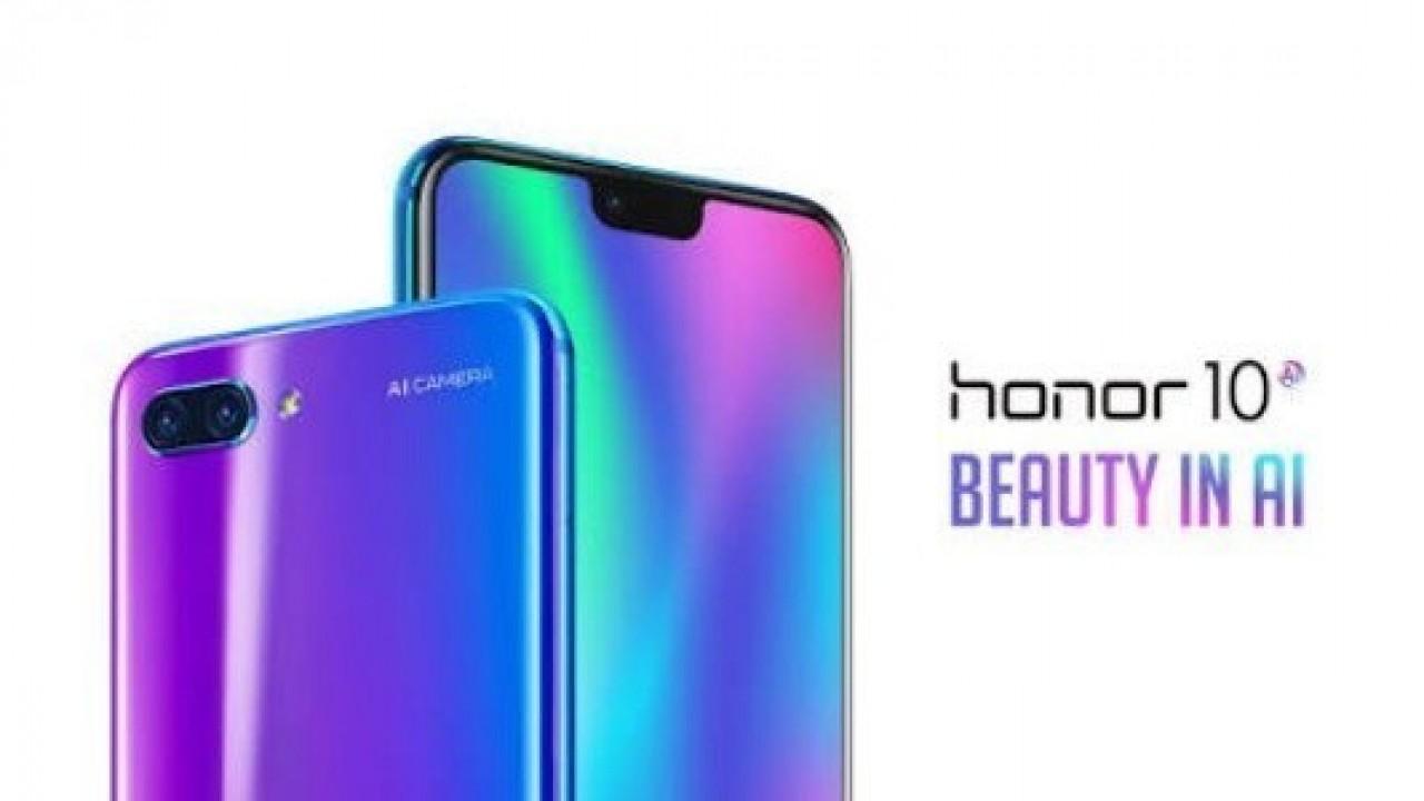 Honor 10 Türkiye'de Satışa Sunuluyor