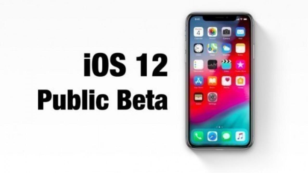 iOS 12 public beta 2'yi tüm kullanıcılar indirebilir